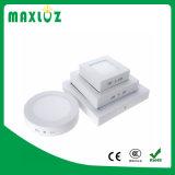 Indicatore luminoso di comitato quadrato montato superficie di 6W LED con 2 anni di garanzia