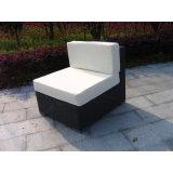Il sofà del giardino del rattan del PE ha impostato con il tavolino da salotto