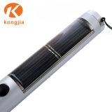 알루미늄 토치 5 LED 비상등 태양 에너지 플래쉬 등