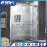 6063-T5 en alliage en aluminium anodisé de profils de partition de la salle de bains