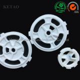 L'isolation Al2O3 partie le disque en céramique d'alumine thermique avec la qualité