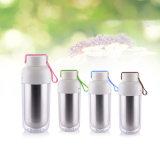 Красочные двойные стенки расширительного бачка с помощью подъемного каната, теплоизоляция бутылка воды из нержавеющей стали для подарков