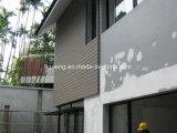 날씨 저항하는 내구재 WPC 외부 훈장 물자 또는 방수 벽 클래딩