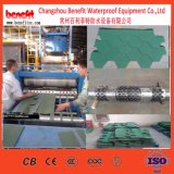 La cadena de producción coloreada de la ripia del asfalto, estándar de la escala de pescados embaldosa la cadena de producción