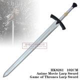 Jogo da espada 102cm HK8261 de Larp dos tronos