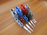 Conetores elétricos resistente 600V da disconexão do fio do Pin Calibre de diâmetro de fios 50A/175A /350A 2 dos conetores de potência 6