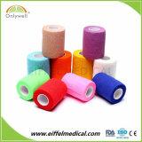 自己接着プラスター苦痛救助の医学の救急処置の綿の凝集の包帯