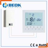 Termóstato de la caldera del sitio con el termóstato del control de la temperatura ambiente de la pantalla del LCD
