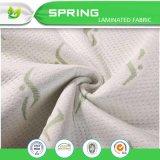 Protector de bambú cómodo fresco del colchón del telar jacquar con el bolsillo profundo