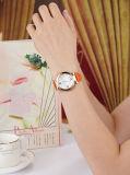 새로운 형식 진짜 가죽을%s 가진 최신 판매 여자 시계
