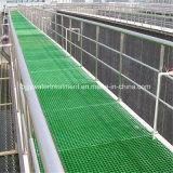 Le PRF GRP caillebotis en fibre de verre moulé avec anti-UV/ Fire-Retardant