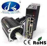 motor servo de la CA de 80m m 220V 2500rpm 1kw con el programa piloto y el cable