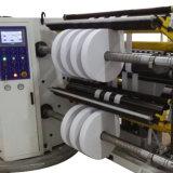 Automatische BOPP Band-aufschlitzende Maschinen-Rückspulenhochgeschwindigkeitsmaschine in China
