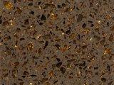 2cm 3 cm de laje de quartzo Calacatta Gold Listra em mármore bancada de quartzo da engenharia de bancada