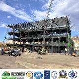 Vertiente del edificio del acero estructural del almacén