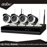 cámaras de seguridad sin hilos del CCTV del IP del kit de 1080P WiFi NVR