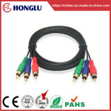 2r/3r Round Connector Audio Video Cable