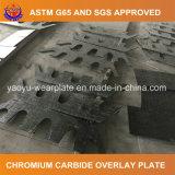 Afrontando a placa com carboneto do cromo