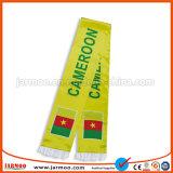 Weiches kundenspezifisches Firmenzeichen gedruckter Fußball-Schal