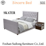 Base americana della camera da letto del tessuto di stile di disegno superiore moderno