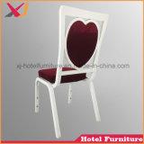結婚式のための旧式なアルミニウム宴会の椅子かホテルまたはホール