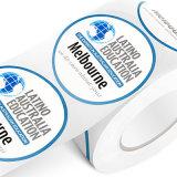 Etiqueta personalizada confidencial da impressão da alta qualidade