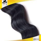 Onda frouxa de etiquetas peruanas do cabelo para pacotes de cabelo