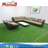Sofà esterno stabilito dell'Arabo di Hotsale del sofà del Recliner della mobilia del patio del sofà Uv-Resistace della corda