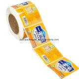 Rolo de profissionais de design do logotipo personalizado e auto-adesivo autocolante Imprimir etiqueta (jp-sticker002)