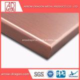 Порошковое покрытие высокой прочности Anti-Seismic металлическая оболочка панелей для наружной/ Внутренних Дел настенные украшения