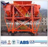 Fang-beweglicher Typ Kanal-Gebrauch-Zufuhrbehälter des Staub-45cbm