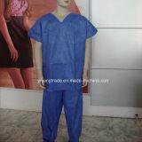 Vestido quirúrgico no tejido disponible de Stelized para el doctor Surgery