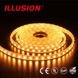 indicatore luminoso di striscia del silicone IP20/IP65/IP68 LED di 22-24LM/LED SMD5050 60LED/M