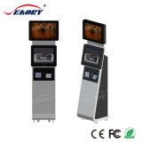 L'aéroport de self-service kiosque Kiosque d'information multimédia à écran tactile