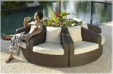 Sofa faisant le coin extérieur réglé avec le sofa élevé de charge de quantité de coussin