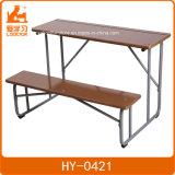 제조 나무와 금속 두 배 학교 가구, 학교 테이블 및 의자는 놓았다
