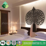 Китайская классическая мебель квартиры гостиницы звезды спальни Set/5 типа (ZSTF-07)