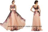 Robes de bal d'étudiants de soirée de T longues de robe d'usager Chiffon de robe