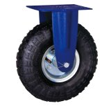 Hochleistungsluft-Reifen-Rad-Fußrolle für industriellen Gebrauch