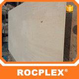 Het Triplex van het Vernisje van Rocplex, Bintangor Marien Triplex Filippijnen, Phenolic Gelamineerd Triplex, Shuttering Plak 1220mm*2440mm*3mm van de Vouw--21mm