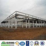 Costruzione d'acciaio prefabbricata del gruppo di lavoro del magazzino dell'indicatore luminoso di cielo del fascio della gru