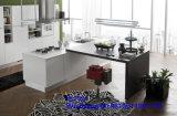2017 neue Foshan Zhihua hölzerne Kraftstoffreglermdf-Furnierholz-Acrylküche-Schrank-einfacher Entwurf