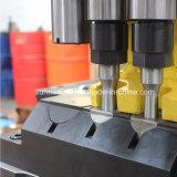 Máquina perfurando, do furo & da marcação para placas de conexão da ponte