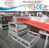 Ligne d'extrudeuse de plaque de feuille de toiture d'onde de PVC