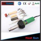 1 equipo de soldadura Handheld del aire caliente de 1600 vatios de la garantía de Yead