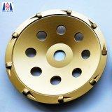 다이아몬드 거친 PCD 가는 컵 바퀴