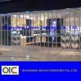 El policarbonato y la seguridad de acero inoxidable puerta de persiana Roller