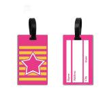 Oferta promocional Tags de bagagem personalizada de Borracha