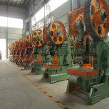 Tipo aberto máquina da imprensa de perfuração da série J23 da imprensa de potência mecânica do ponto dobro
