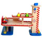 täuschen hölzerner 3D Parkplatz Spiel-gesetzte Kind-Ausbildungs-Spielwaren vor